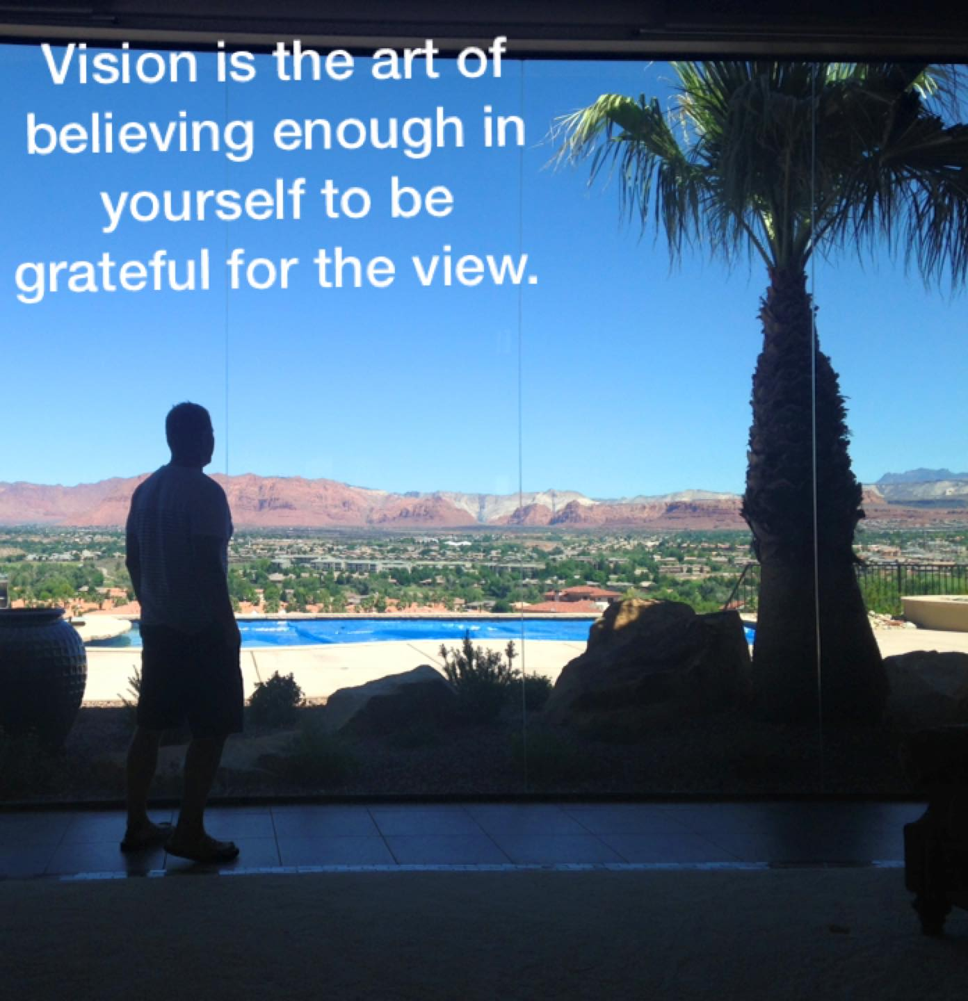 VISION is all about which direction you face.